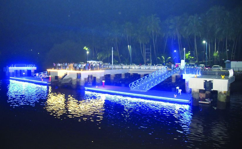 OLD GOA JETTY GETS A `70 CRORE MAKEOVER!