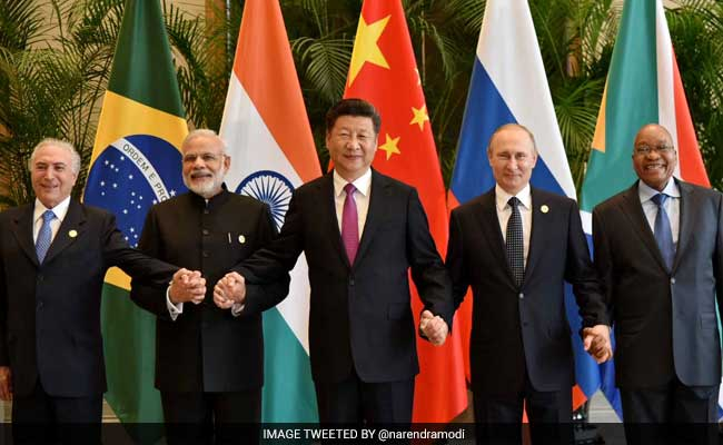 POWER PEOPLE: Brazil's Michel Temer, India's Narendra Modi, China's Xi Jinping, Russia's Vladimir Putin and South Africa's Jacob Zuma