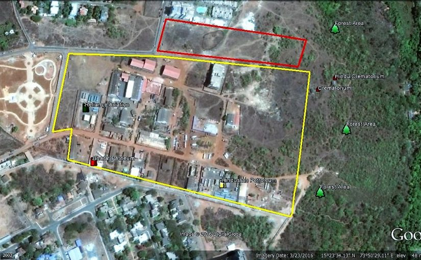 LAND GRAB: Dabolim MLA Mauvin Godino is alleged to have grabbed 15,000 square metres of land for Edify School promoted by him