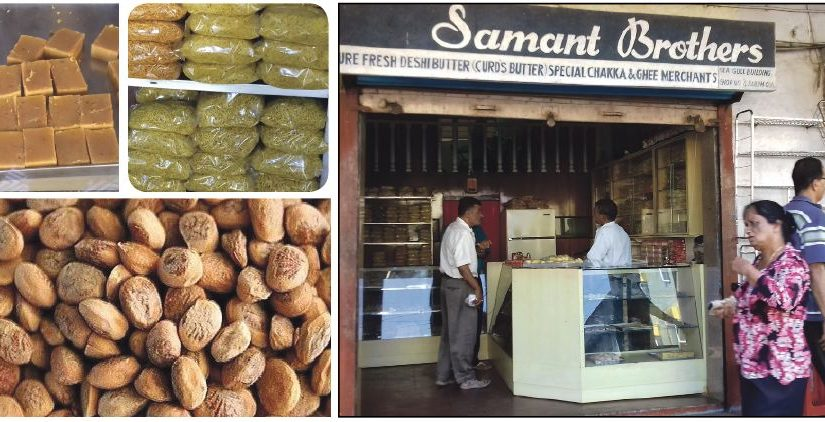 SWEETS TO SAVOUR: Samant Brothers, a traditional savories/sweets outlet near Panjim market has sold the best besan barfi among other sweets, for more than 25 years. Charoli or chironji (Indian nuts) also need to make a come-back!