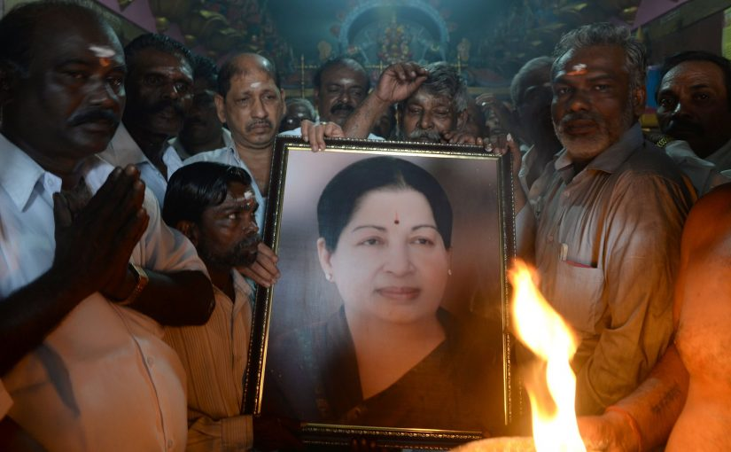 JAYALALITHAA, TN IRON LADY PASSES AWAY AT YOUNG 68
