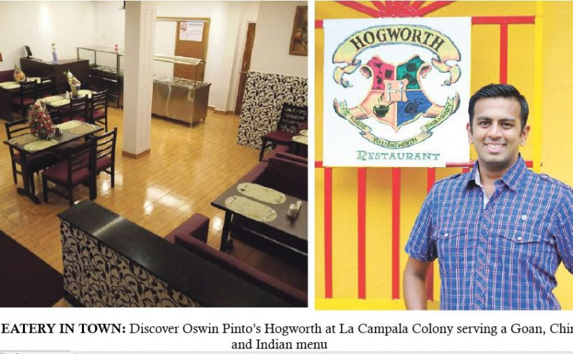 Oswin Pinto's Hogworth at La Campala