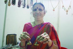 PRETTY: Madhubala Soni believes every women should have jumkhas earrings from Rajasthan.