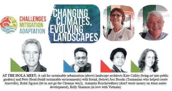 CHANGING CLIMATES, EVOLVING LANDSCAPES