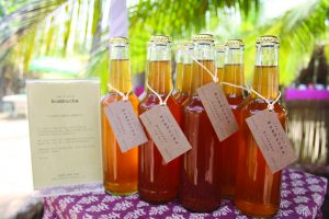 RAW AND WILD: Kombucha is a light sparkling refreshing liquor from a nurtured mushroom with many health benefits.