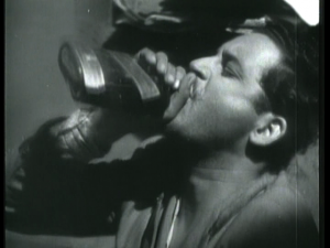 DROWNING SORROWS: Daaru is given a romantic image in the classic. Pyaasa starring the legendry Guru Dutt.