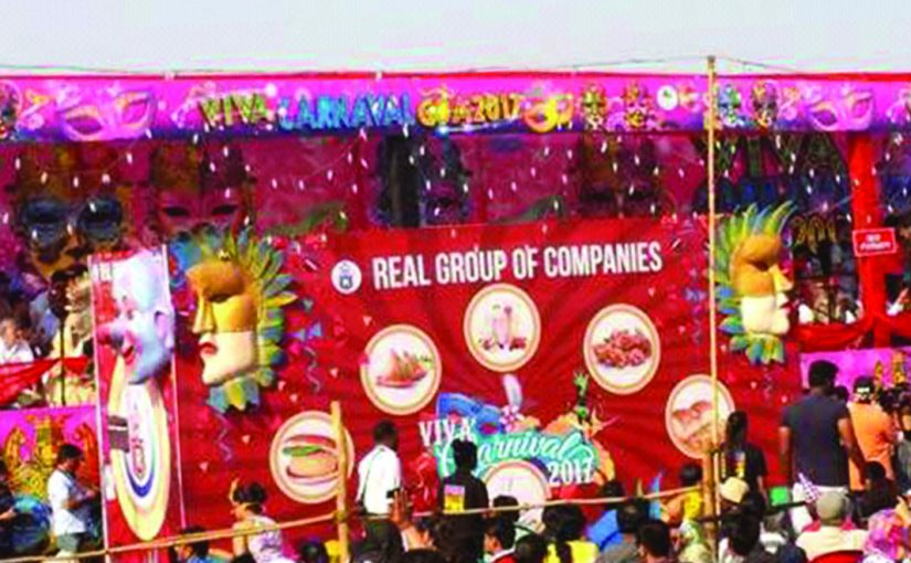OLOURFUL CARNIVAL: Following the end of a vibrant Carnival season, the Panjim Carnival Committee announced the prize winners of the float parade in Panjim. Real Group of Companies was named the winner in the Commercial Category for their float of a dance and music band alongside the display of Real Soft Drinks bottles in a unique style. The float was designed by Jurgen Francisco Martins