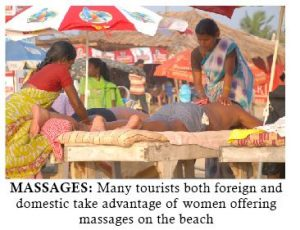 TOURISM PREYS ON WOMEN