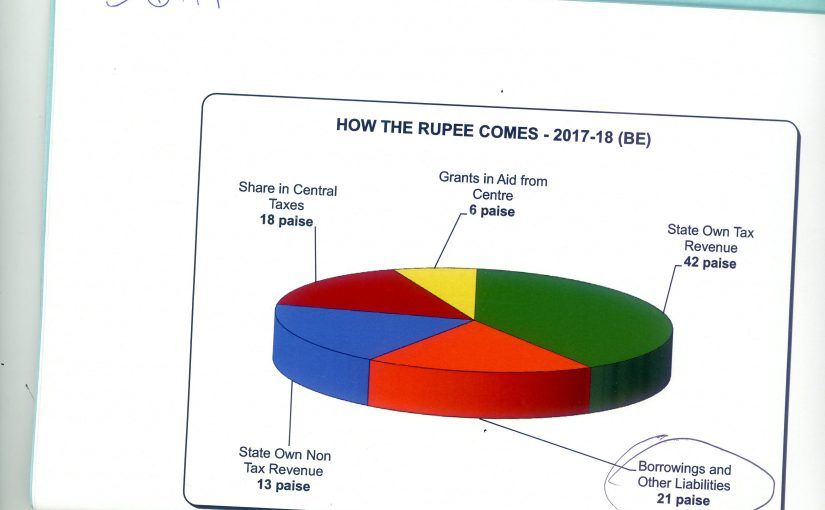 BORROWINGS: Loans from private banks at high interest account for more than 20 per cent of the revenue of the government