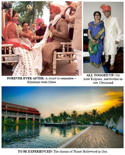 A GUJARATI MARRIAGE AT `PLANET HOLLYWOOD'
