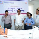HOW SWEET IS YOUR SLEEP? Sleep disorders are many in our stress-filled times and you may want to do a polysomnogram at the new first-of-its--kind Sleep & Breathing Centre at Manipal Hospital! Sleep quality defines what we suffer from, be it morbid conditions like COPD, asthma, heart failure and more. Pic shows inauguration of the Sleep Centre by Minister for Transport Ramkrishna Sudin Dhavalikar, with him are consulting pulmonologist Dr Prabhu Prasad, oncologist Dr Shekhar Salkar, unit head Girish Babu Bommakanti and others