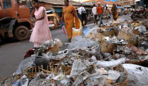 SHOPPING HELL: The garbage lining the roads in parts of Panjim are just symptoms of the underlying cabcer of filth and negligence that has infected Panjim increasingly over the past 20 years