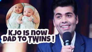 SINGLE FATHER: Film director Karan Johar is not just the single father of one child but of twins. He happens to the India's first gay man to have children through surrogacy