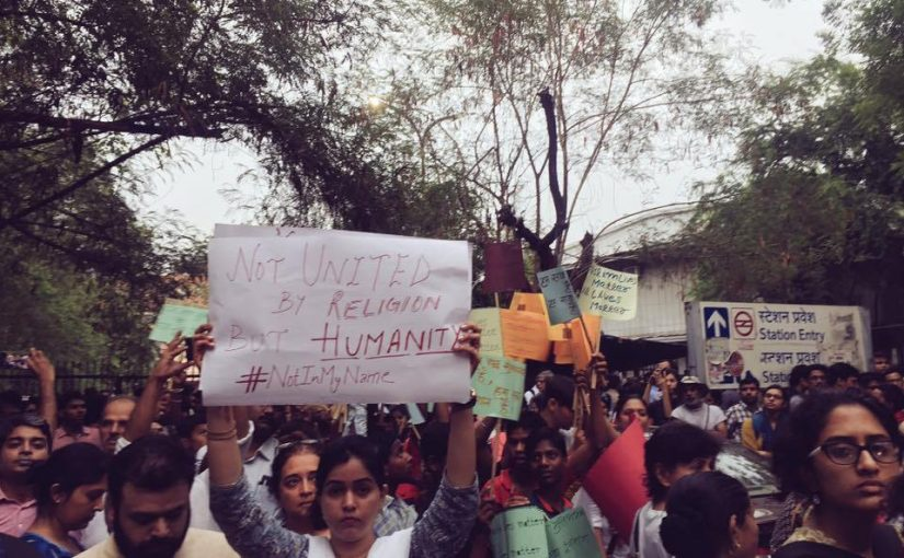 #NOTINMYNAME PROTESTS ARE HAVING AN IMPACT