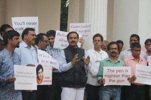 GOA JOURNOS PROTEST