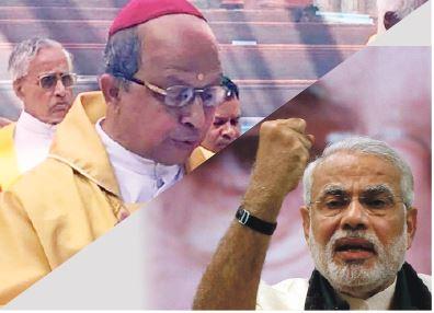 BISHOP SCARES BJP