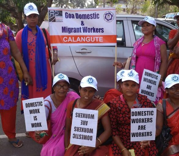DOMESTIC WORKERS COMMEMORATE MAY DAY