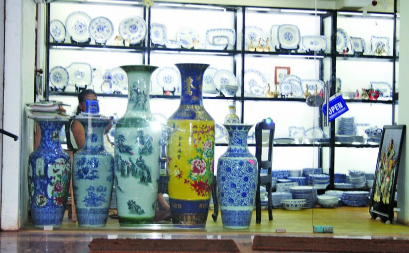 THE BLUE AND WHITE CROCKERY OF MACAO