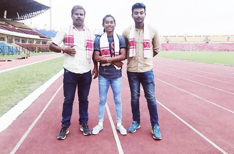 HIMA DAS THE GIRL WHO CHASES TIME