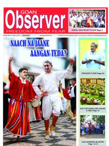 RANDOM THOUGHTS ON THE LIFE AND TIMES OF THE 'GOAN OBSERVER'