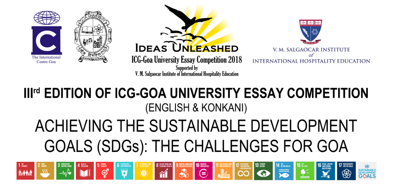 IIIrd Edition of ICG-Goa University Essay Competition in English and Konkani