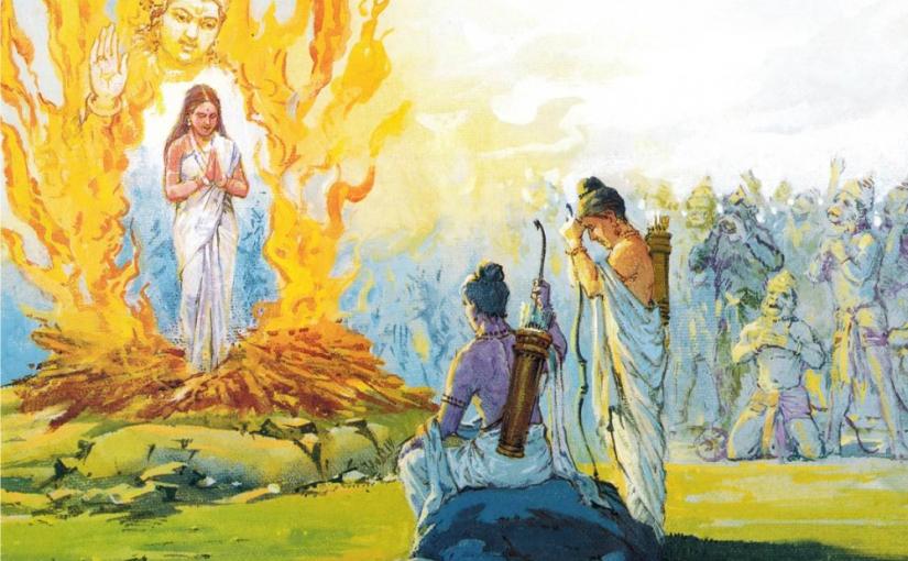 Sita's Freedom Struggle