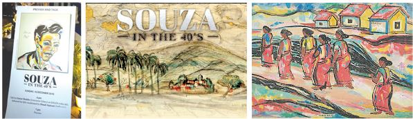CHAMPIONING ART FROM GOA! 'Souza in the 40's' show at Sunaparanta