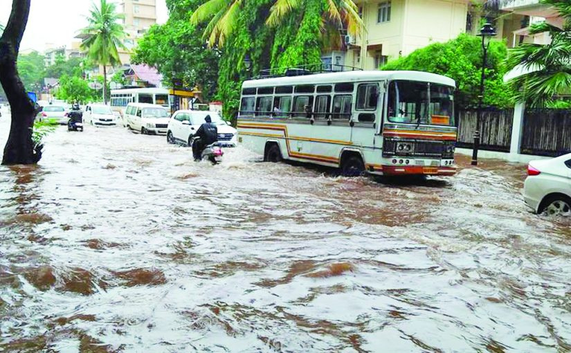 PANAJI IS ALL SET TO WELCOME FLOODS!
