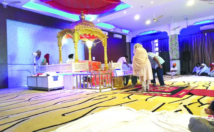 ON SUNDAY I WENT TO THE GURUDWARA…