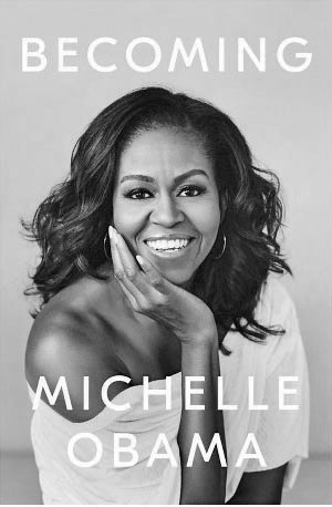 Excerpted from 'Becoming'  by Michelle Obama….