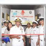 Blood donation Camp at Naval Hospital Jeevanti Vasco-da-Gama