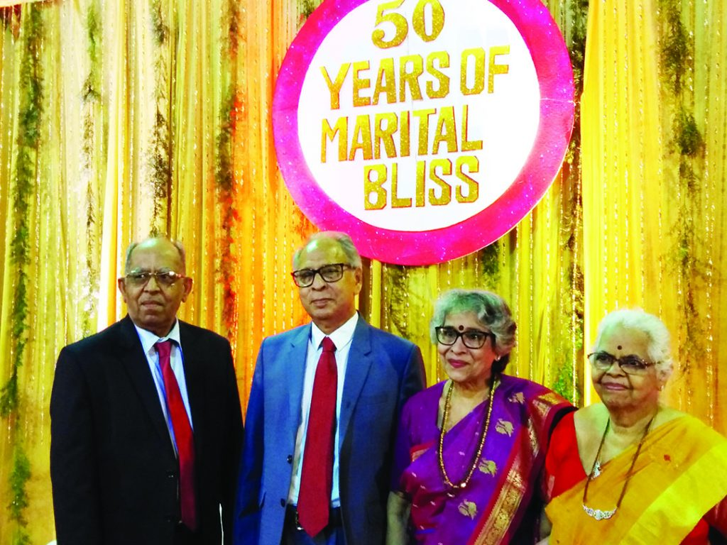 HOW MANY CAN CLAIM 50 YEARS OF MARITAL BLISS?