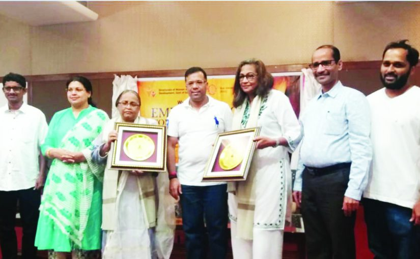 WOMEN JOURNALISTS FELICITATED