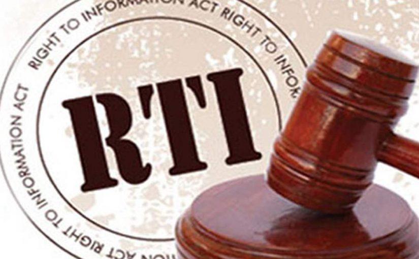 CRIPPLING THE RTI