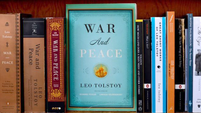 'War and Peace' lands Indian activist in trouble...