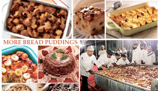 BREAD PUDDING IS BRITISH COMFORT FOOD!