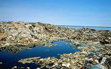 The Three Plastic Islands