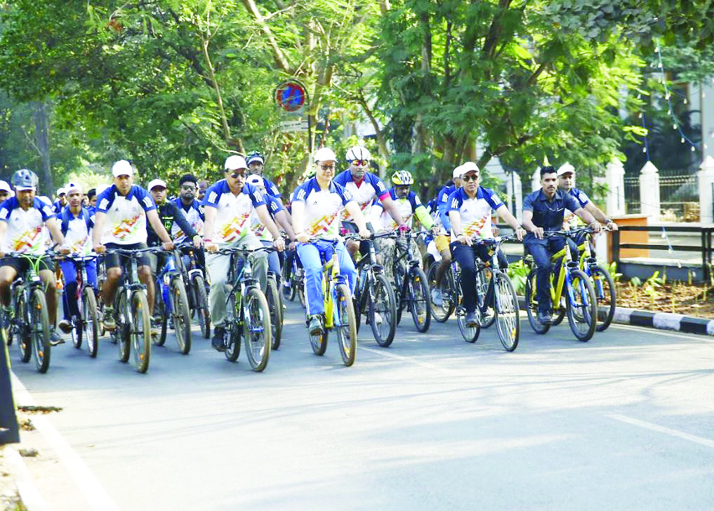 CYCLOTHON IS RUN-UP TO NATIONAL GAMES