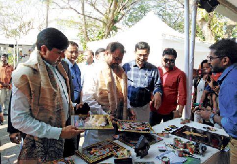 Handicrafts, handloom, Khadi stalls for launch of Bihar Foundation in Goa…