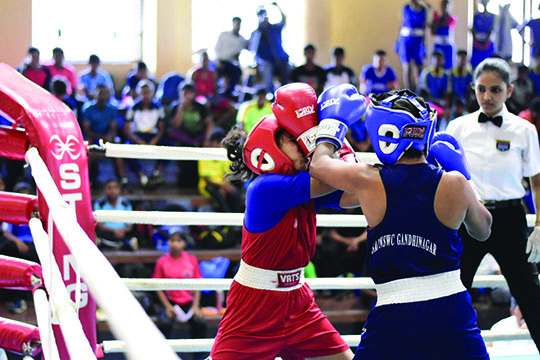 SBC BOXERS CREATE WAVES