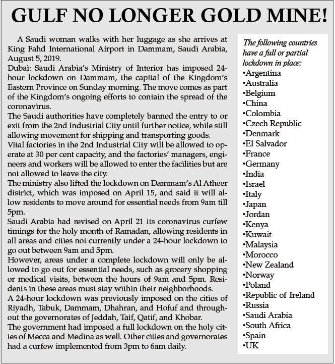 GULF NO LONGER GOLD MINE!