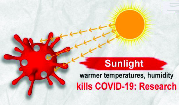 CORONAVIRUS? GO FOR SUNSHINE!