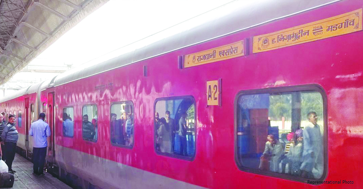 RAJDHANI EXPRESS BRINGS CORONAVIRUS TO GOA!
