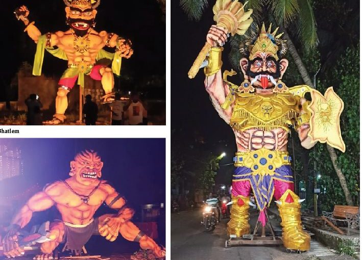 NARKASUR EFFIGIES TAKE OVER PANAJI!
